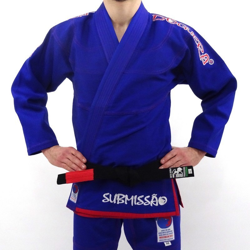 BJJ GI DOGUERA SUBMISSAO BLUE & RED
