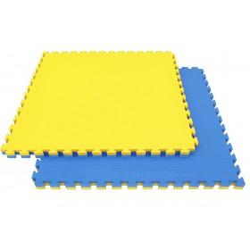 TATAMI PUZZLE 2.5cm bleu et jaune (Lot de 5)