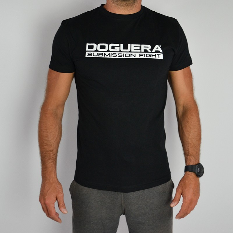 TEE SHIRT DOGUERA SUBMISSION FIGHT NOIR